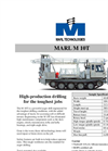 Marl - Model M 10T - Tracked Auger Drill Brochure