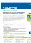 Liquid Sanitizer Concentrate SANI-SYSTEM Brochure