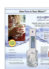 AP-1 AquaPro Water Quality Tester  Flyer