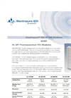 SnowPure Electropure - Model XL-SR - Pharmaceutical Electrodeionization (EDI) Modules Brochure