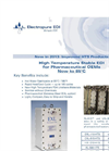 High Temperature Stable EDI for Pharmaceutical OEMs Brochure