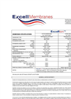 Excellion - Ion Exchange Membrane Specifications