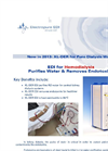 SnowPure Electropure - Model XL-DER - High Temperature Stable EDI for Hemodialysis Brochure
