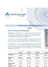SnowPure Electropure - Model EDI XL-R - Industrial Electrodeionization Modules - Brochure