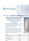 SnowPure Electropure - Model EDI EXL-750 - High Flow Electrodeionization Modules Brochure