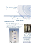 SnowPure Electropure - Model XL-HTS - High Temperature Stable EDI for Pharmaceutical OEMs Brochure