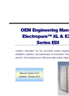 Electropure - Model XL & EXL Series EDI - OEM Engineering Manual