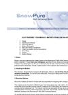 Electropure EDI Module Installation Checklist Datasheet