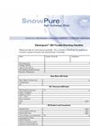 Electropure EDI Trouble Shooting Checklist Datasheet