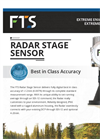 FTS - Radar Stage Sensor - Brochure