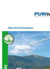 PURItech - Model PURImobil - For Vans and Camper Vehicles - Brochure