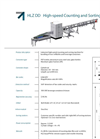 Model HLZ DD - High-Speed Counting Machines  Brochure