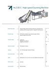 Model HLZ DD C - Industrial High Speed Counting Machine Brochure
