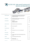 Model HLZ DD C MS Compact - Industrial High Speed Counting Machine Brochure