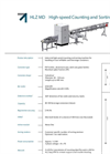 Model HLZ MD - High Speed Counting Machines Brochure