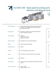 Model HLZ MD Ultra - Industrial High-Speed Counting and Sorting Machine  Brochure