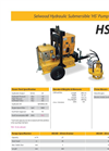 Model HSP 10 - Hydraulic Submersibles & Power Packs Pump - Brochure