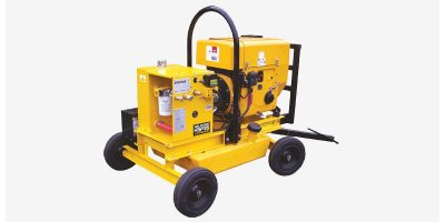 Model HSP 10 - Hydraulic Submersibles & Power Packs Pump