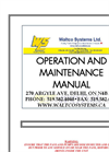 Operation and Maintenance Manual Brochure