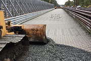 Research: Neoloy geocell cellular confinement system for structural road pavement reinforcement & railways