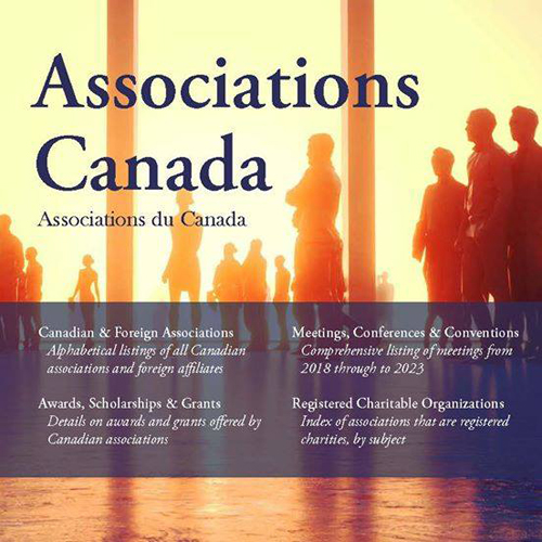 Associations Canada 2018 Edition    goo.gl/SntH2k