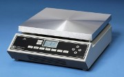 Aluminium top hotplate for working with solids directly on the plate surface