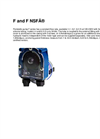 Model F series - Peristaltic Pump Brochure