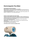 Electromagnetic Flow Meter Brochure