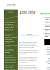Agra-Tron -Irrigation treatment