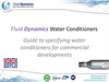 Guide to water conditioners