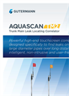 AquaScan - Model TM2 - Trunk Main & Plastic Pipe Correlator - Brochure