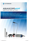 AquaScope - Model 550 - Digital Acoustic Water Leak Locator - Brochure