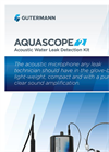 AquaScope - Model 2 - Acoustic Listening Device - Brochure