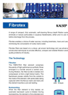 Fibrotex - - Self-Cleaning Fibrous Depth Filtation Systems Brochure