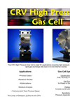 CRV High Pressure Gas Cell Brochure