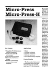 Micropress Brochure