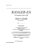Ranger-EN 9.6 Meter Pathlength Gas Cell Manual