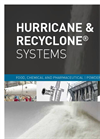Hurricane & ReCyclone Systems - Food, Chemical and Pharmaceutical - Powder Recovery - Brochure