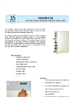 Model TOC - On-Line Total Organic Carbon Analyzer - Brochure
