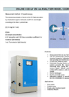 Model COD - Online UV 254nm Continuous Measurement of Organic Load Meter Brochure