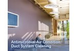 Antimicrobial Air Condition Duct System Cleaning Services