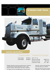Nitrogen Pump Truck Data Sheet