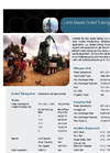 Land-Based Coiled Tubing Equipment Brochure