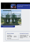 Hi-Flow IFV 4000 48` Diameter Dual Filter Vessel Skid Brochure