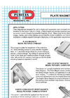 Plate Magnet – Data Sheet