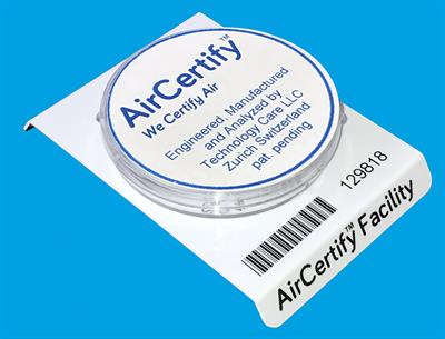 Air Certify - Model FACILITY - Air Certification Kit Provides Legal Protection