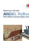 ReBund - Modular, Environmentally Friendly, Bunding, Containment and Flood Defence System Brochure