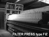 Model FIZ - Standard Industrial Filter Press