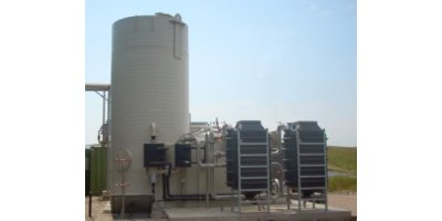 Activated Carbon with preceding Gas Cooling Unit of Biogas Conditioning