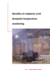 Benefits of Sulphuric Acid Dewpoint Temperature Monitoring Brochure